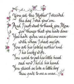 Elegant Handscribed Calligraphy Loving Poem For By CalligraphicArtisan, $20.00