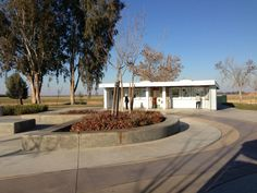 Buttonwillow Rest Area Northbound - Buttonwillow, CA