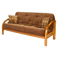 Big Tree Z63390SSF019 Chelsea Futon With Designer Coffee Bean Super Spring