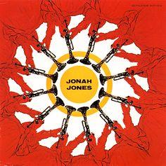 Bethlehem Records - jazz album covers  1954, design: Burt Goldblatt