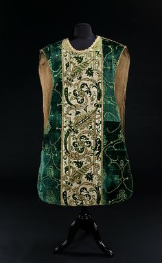 15th century Italian chasuble #Baroque #Print #Pattern