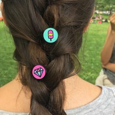 Because regular braids are boring.  Get creative with Ziggit Pins: http://ziggitstyle.com/shop/en/piece-by-piece/the-originals/b-w-color?limit=12&p=5