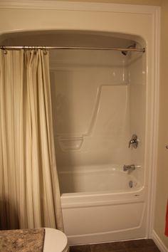 One Piece Acrylic Tub/ Shower