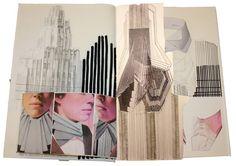 Fashion Sketchbook - architecture inspired fashion design; fashion portfolio
