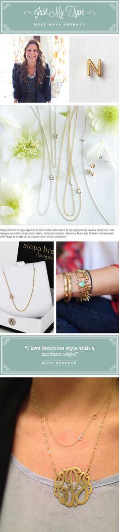 Maya Brenner on @mark and graham blog, m·gram