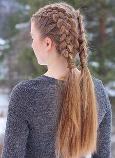 Two 5 strand braids.