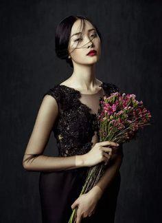 "Kwak Ji Young Captured By Zhang Jingna In ""Flowers In December"" For Fashion GoneRogue - 3 Sensual Fashion Editorials | Art Exhibits"