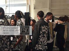 #NYFW #SS16 #NYC #FNLFW #Backstage #BTS KYE
