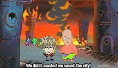 One punch man meme