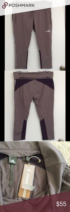 ADIDAS FOR STELLA MCCARTNEY CROP PANTS NWT Size Large. NWT.  82 polyester 18 spandex. Adidas by Stella McCartney Pants Leggings