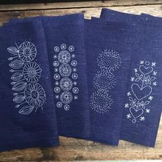 Embroidery Companies, Swedish Embroidery, Textile Artists, Haberdashery, Home Textile, Stitching, Textiles, Sign, Costura