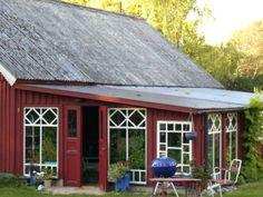 Uterum / växthus | Greenhouse attached to barn building (Yngsjö, Sweden)