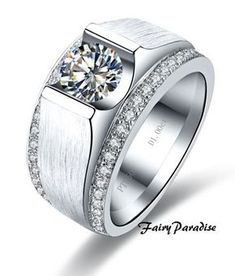 9 Best White Gold Men S Wedding Band Beautiful Images Rings