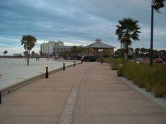 The Beach Walk along Clearwater Beach.