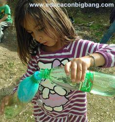 experimento de presion del aire infla un globo dentro de una botella Kids, Authors, Ideal Gas Law, Educational Activities, Balloons, Bottles, Children, Boys, Children's Comics