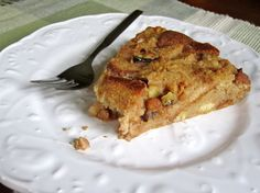 Banana Nut Bread Pudding