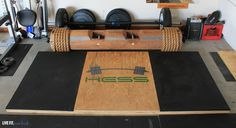 Hey you weekend warriors...Build your very own weightlifting platform for about $150. See the plans here