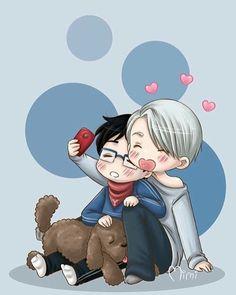 © to kawaii mimi  {#anime#manga#phichitchulanont#minamikotori#victornikiforov#yuriplisetsky#yurikatsuki#yurio#victuri#shounenai#boyxboy#boyslove#bl#victorxyuri#yuri#yaoi#yaoionice#yurionice#gay#yaoimanga#viktornikiforov#art#follow#yaoicouple#otp#seme#uke#paint#beijing#phichit_chu}