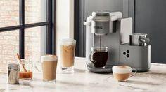 K-Café™ Special Edition Single Serve Coffee, Latte & Cappuccino Maker Cappuccino Maker, Cappuccino Machine, Latte Machine, Coffee Latte, Best Coffee, Coffee Shot, Coffee Drinks, Fresh Ground Coffee, Lactose Free Milk