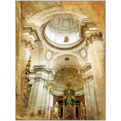 Beautiful Catholic Cathedral Photography by Eazl, White