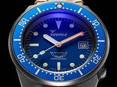 Ocean Blasted 1521-026   Squale , La montre de plongée à moins de 1000€ - E-con