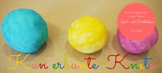 Knete selber machen: Mit unserer eifnachen Anleitung könnt Ihr aus natürlichen Zutaten ganz einfach Knete herstellen. So sind dem lustigen Knet-Spaß keine Grenzen gesetzt.