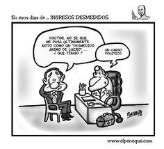 En esos días de ... INGRESOS DESMEDIDOS. | EL PENEQUE | HUMOR GRÁFICO & CARICATURAS