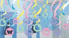 Babyshower Swirl Decoratie - Sisters in Wonderland
