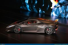 Lamborghini Sesto Elemento (Sixth Element). 0-100kmph in 2.5 seconds, price $1,700,000. Limited edition 20 cars only for track use.