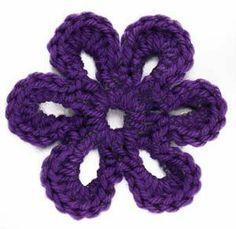 crochet flower.