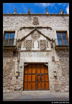 Casa del cordon-Burgos, Spain http://www.hotelasvegas.es/