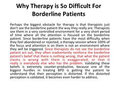 Freaky and true.Why Therapy is So Difficult For Borderline Patients Boarderline Personality Disorder, Borderline Personality Disorder Quotes, Mental Help, Mental Health Issues, Mental Health Disorders, Mental Health Quotes, Mental Illness Awareness, Abnormal Psychology, Bipolar Disorder