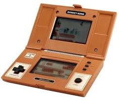 I had the Donkey Kong game... played it till my fingers hurt...