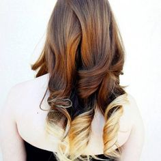 Most beautiful ombre curls ive ever seen.