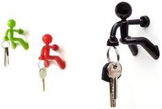 Porta-chaves criativo: fotos