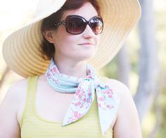 Ug, it's hot! Make yourself a Cooling Scarf to help get you through those summer days. This design uses a center panel with sewn channels to keep the ...