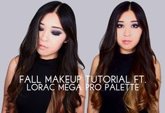 NEW VID UP! My Fall Makeup Tutorial ft. the Lorac Mega Pro Palette !