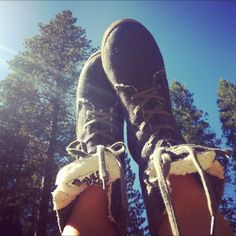 Boston Boots in Yosemite National Forest