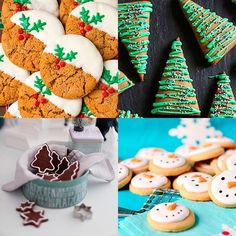 4 recetas de galletas de Navidad sencillas y sorprendentes para regalar o compartir. Galletas de Navidad decoradas, decoraciones fáciles, galletas de jengibre.