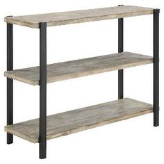 Wyoming Console Table Wood - Convenience Concepts : Target