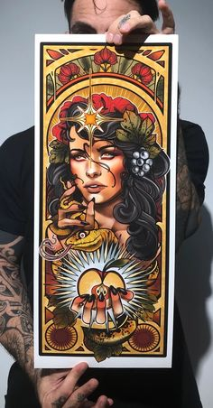 Size Printed on German etching hahnmuhle paper α-Celullose 310 Tamaño Impreso en papel German etching hahnmuhle Neo Traditional Art, American Traditional, Sad Girl Art, Up Girl, Traditional Tattoo Flowers, Girl Face Drawing, Tattoo Project, Tattoo Illustration, Time Tattoos