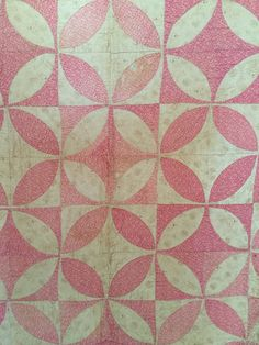 Vintage Orange Peel Quilt by WildasQuilt on Etsy