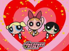 <3 The Powerpuff Girls <3 OMGGG, YESSS! Love, love, love, love this show! Bubbles was my favorite! I had the Blossom and Bubbles plush toys and probably still have them somewhere in my house! :')<3