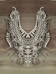 If you're looking to make a statement- these are the necklaces for you! Dramatic, bold, and absolutely luxurious… And I just love the contrast of a bold statement piece against a casual…