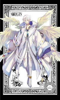 Did u notice that both of the leaders have four wings? Anime Demon Boy, Anime Angel, Moe Anime, Anime Art, Seshomaru Y Rin, Anime Prince, Tsukiuta The Animation, Ange Demon, Cardcaptor Sakura