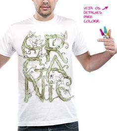 """Estampa """"Organic"""" em votação no http://Camiseteria.com. Autoria de Alan Maia. Vote! http://cami.st/d/52880"""