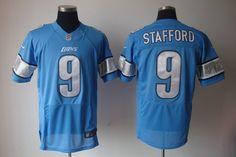 25.00 Nike NFL Jerseys Detroit Lions Matthew Stafford  9 Blue Nike  Football 0f4f1c180