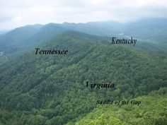 Image detail for -Daniel Boone and The Cumberland Gap