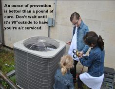heating and air conditioning get your heating and air system check.
