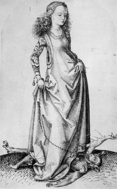 Schongauer, Martin (Kopist): Hl. Margaretha